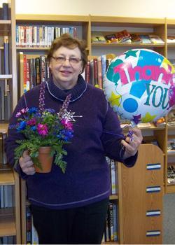 Bennett Co. Library Honors Carol Yohner