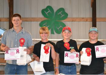 Fair Beef Quiz Bowl champions crowned