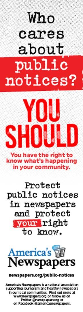 Public Notice Newspapers 4-22-21